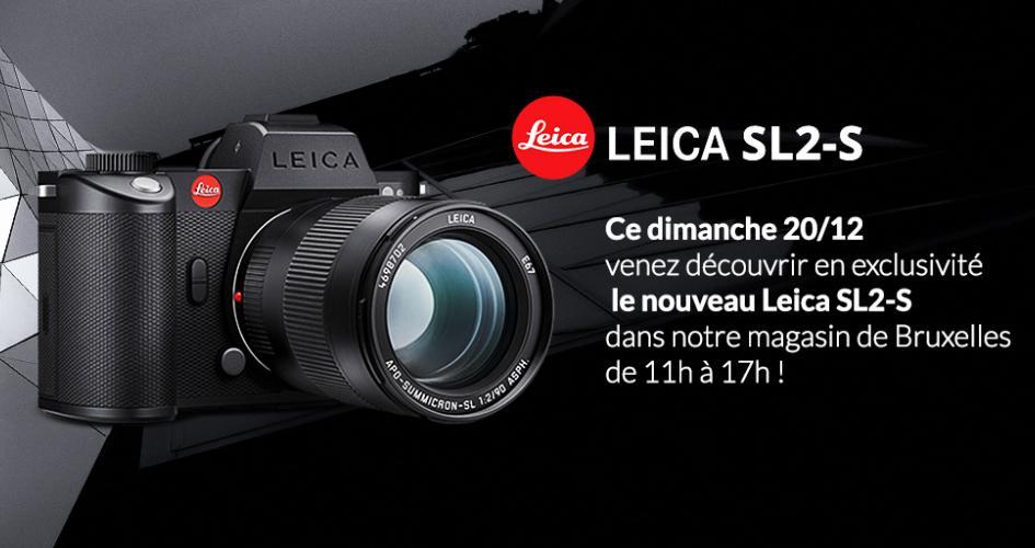 Journée de présentation du Leica SL2-S